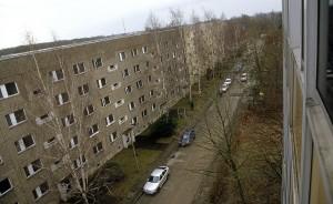 Blick aus dem Apart-Hotel Leipzig/Böhlen