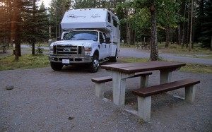 Tunnel Mountain Campground Banff National Park