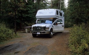 Whistlers Campground Jasper