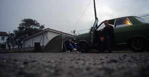 Camping am Straßenrand