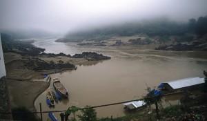 Mekong bei Pakbeng