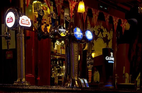 Guinness und andere Biere