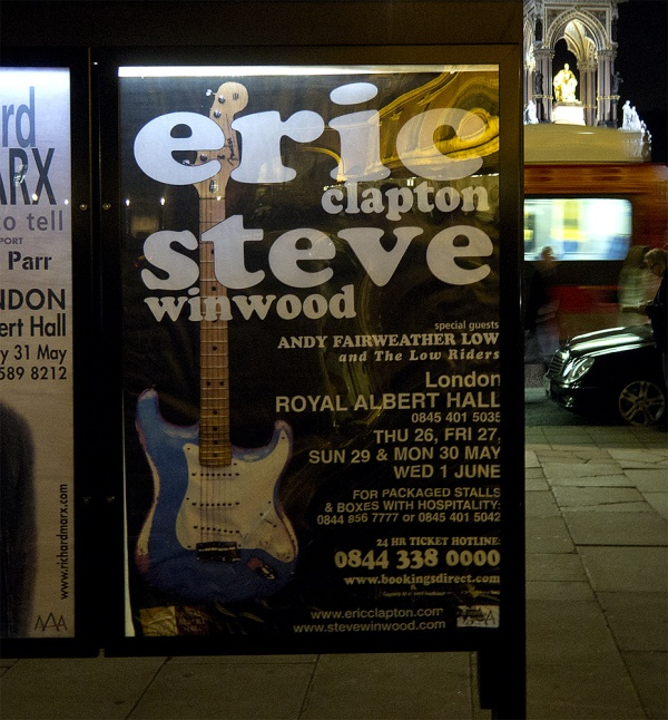 Eric Clapton & Steve Winwood in der Royal Albert Hall