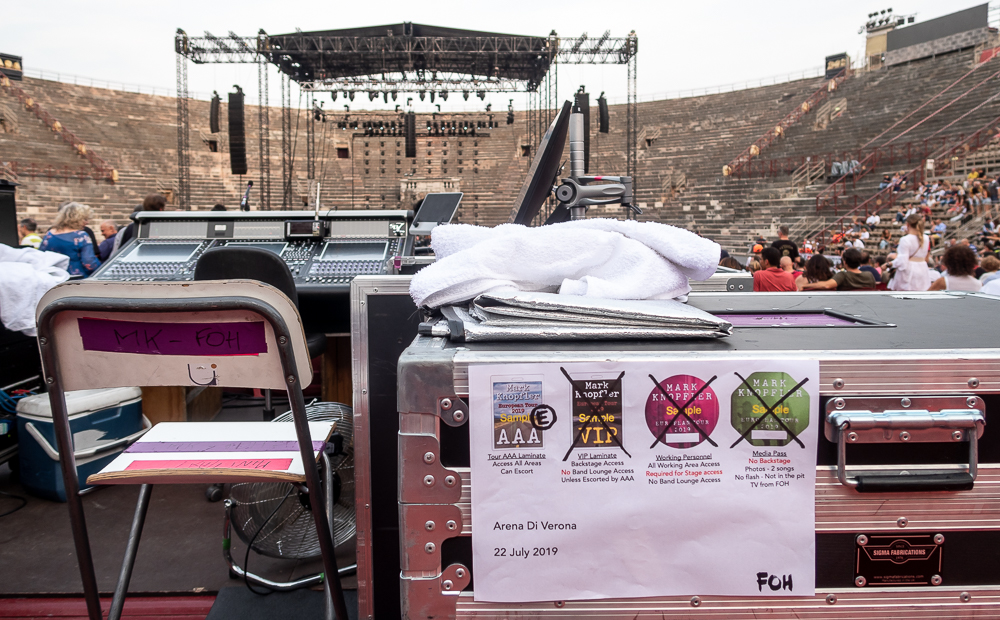 Arena di Verona: Mark Knopfler