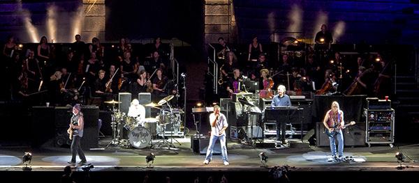 Arena di Verona: Deep Purple - Roger Glover, Ian Paice, Ian Gillan, Don Airey, Steve Morse