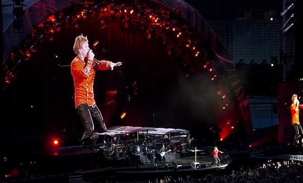 Ernst-Happel-Stadion: Bon Jovi - Bad Medicine