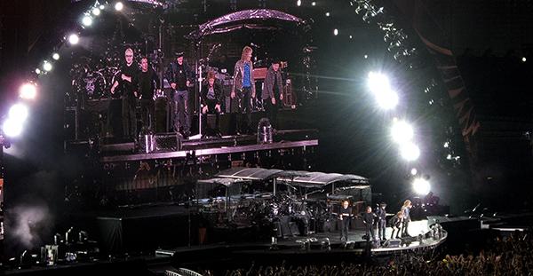 Ernst-Happel-Stadion: Bon Jovi - Hugh McDonald, Tico Torres, Richie Sambora, Jon Bon Jovi, David Bryan, Bobby Bandiera