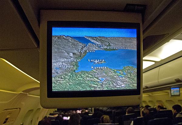 Flug Larnaka - Tel Aviv