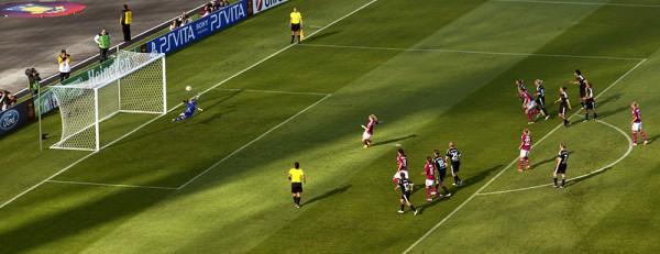 Olympique Lyon - 1. FFC Frankfurt 1:0 Le Sommer