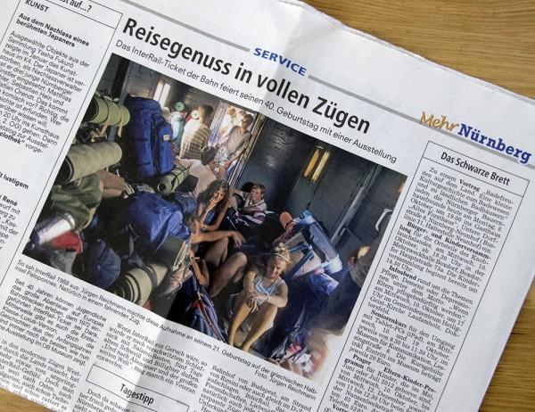 Nürnberger Nachrichten 8. Oktober 2012