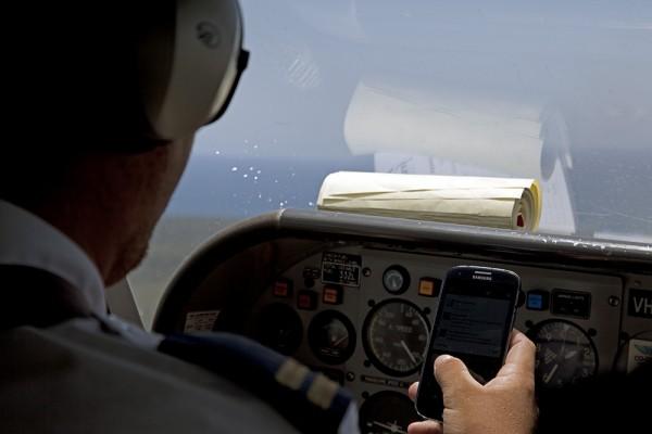 Cooler Pilot? Oder fragt er im Chat nach dem Weg?