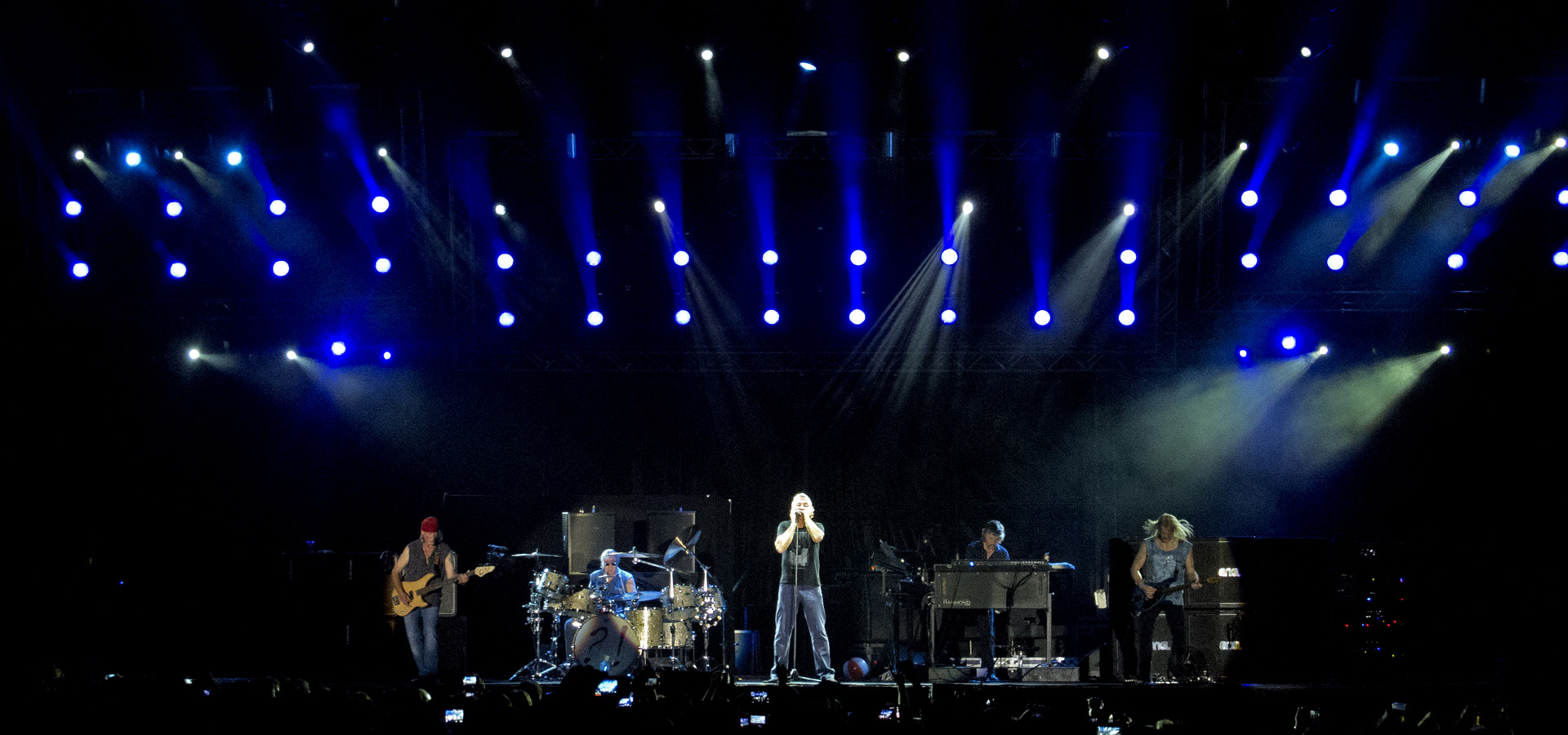 Ippodromo delle Capannelle (Rock in Roma): Deep Purple