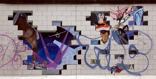 "East Side Gallery - Lance Keller: ""The Wall"""