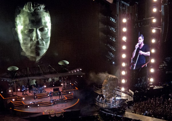 San Siro Mailand: Robbie Williams