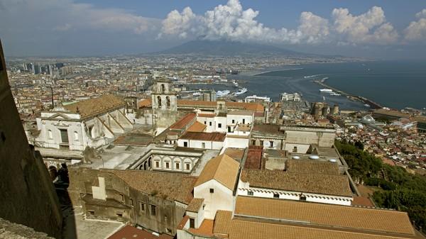 Neapel, Golf von Neapel, Vesuv