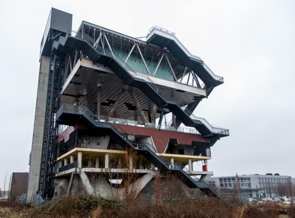 EXPO 2000 Hannover: Niederländischer Pavillon (Zustand 2013)