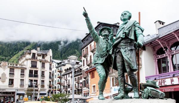 """""""Ein verregneter Julitag in Chamonix, ..."""""""