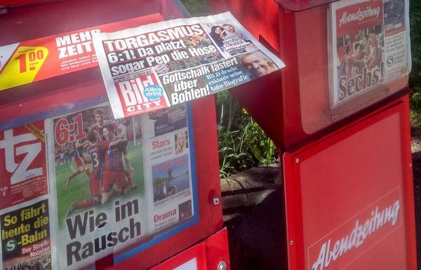 Zeitungskästen München