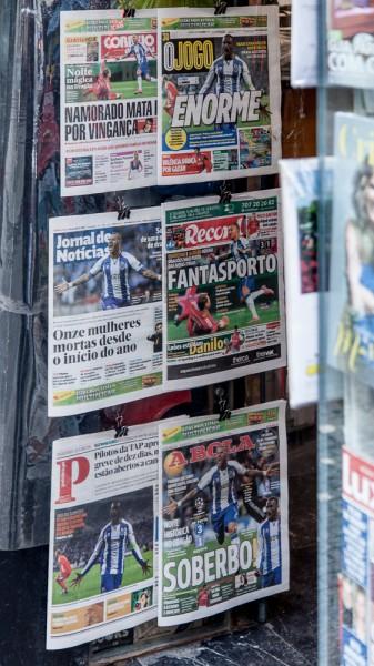 Zeitungsladen Porto
