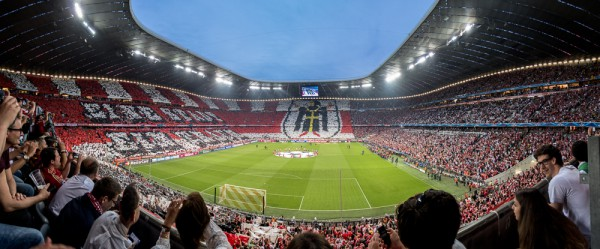 Allianz Arena München, 12. Mai 2015, Fan-Choreografie