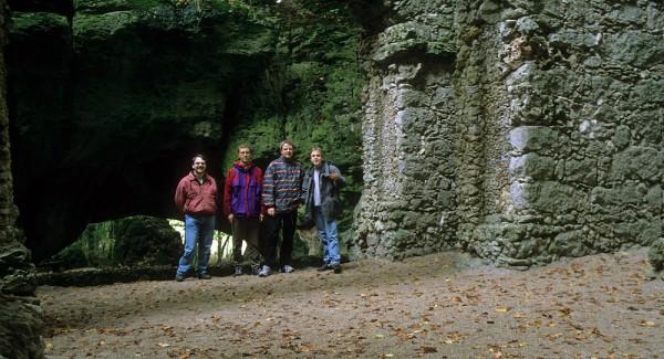 Ruinentheater im Felsengarten von Sanspareil