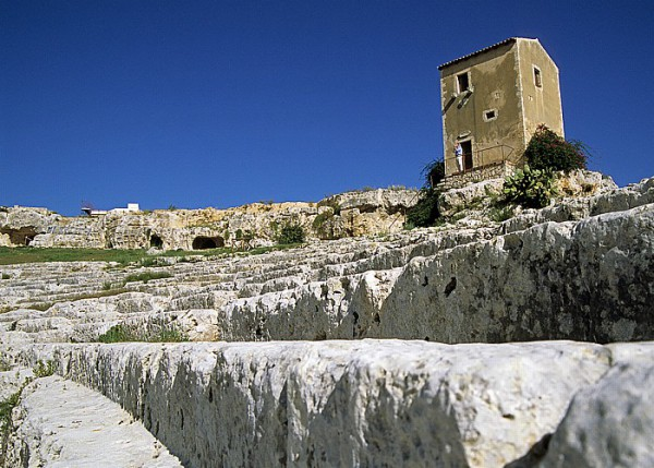 Syrakus: Griechisches Theater im Parco Archeologico della Neapoli