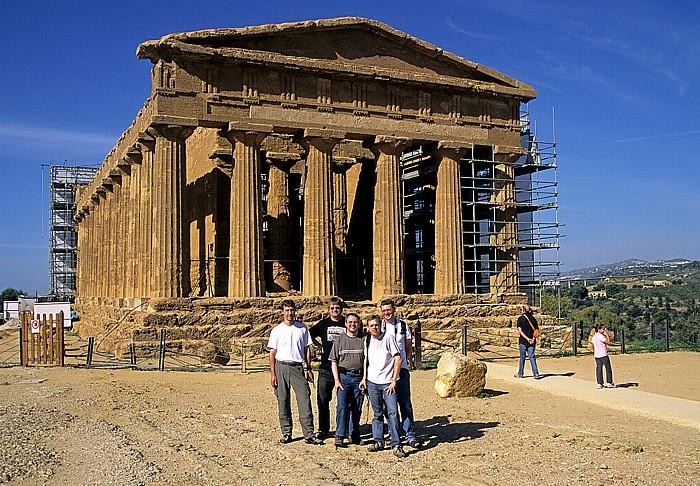 Agrigent: Concordia-Tempel im Tal der Tempel
