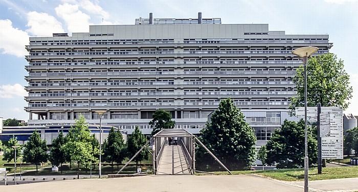 Physik-Hochhaus der Universität Stuttgart