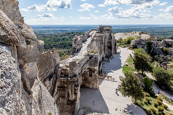 Les Baux-de-Provence: Burgruine Château des Baux