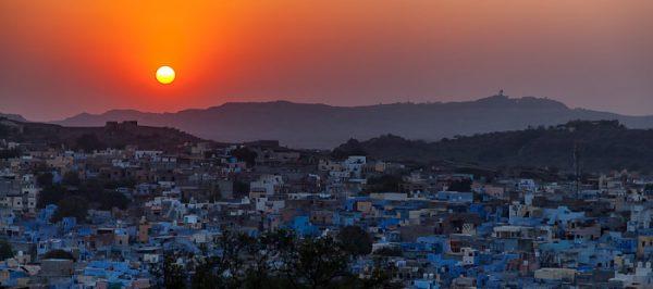 Jodhpur - Sonnenuntergang über der Blauen Stadt