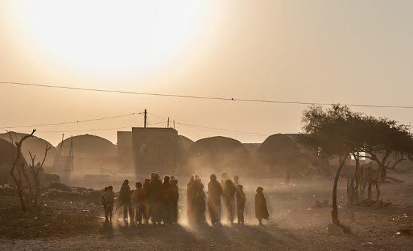Dorf in der Wüste Thar