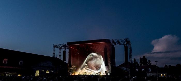 Saline Royale d'Arc-et-Senans: Konzert von David Gilmour