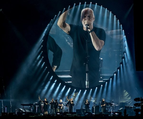 Saline Royale d'Arc-et-Senans: David Gilmour