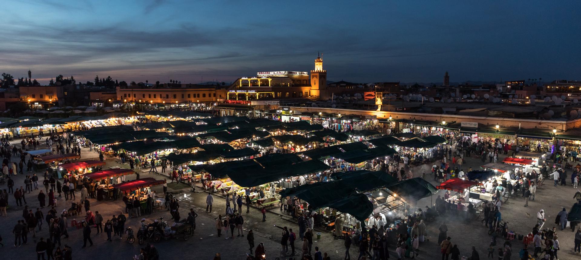 Place Djemaa el Fna, Marrakesch