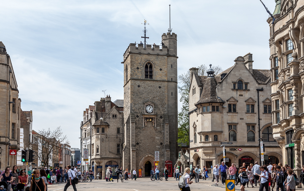 High Street und Carfax Tower Oxford